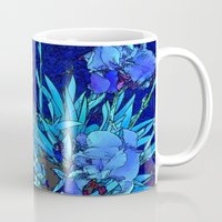 iris Mugs featuring Iris by lillianhibiscus