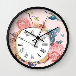 A Beautiful Rush Wall Clock