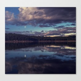 Planetary Conjunction Canvas Print