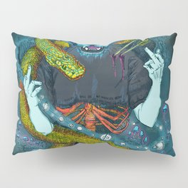 no miracles (full colour) Pillow Sham