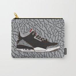 Jordan 3 Black Cement Carry-All Pouch