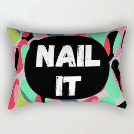 Nail It Rectangular Pillow