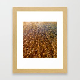 Clear Cool Water Framed Art Print