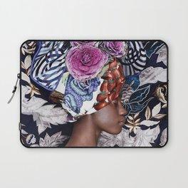 Flower turban Laptop Sleeve
