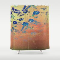 aloha Shower Curtains featuring Aloha by ThatGeorgeGuy