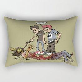 Gross Kids Rectangular Pillow
