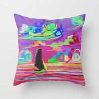 sail Throw Pillows featuring Sail by wingnang