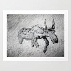Extinction Art Print