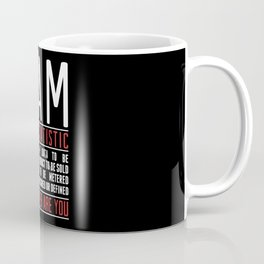I Am Not a Statistic Coffee Mug