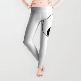 Yin Yang Taijitu Symbol Leggings
