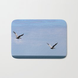 Pair of Pelicans Bath Mat