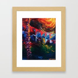 """""""Lavender"""" Painting Framed Art Print"""