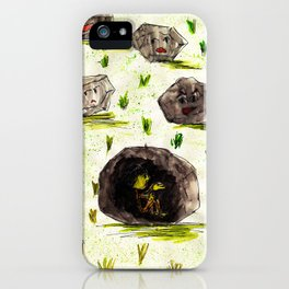 I Stuck in the Stone!!! iPhone Case