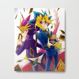 Yu-Gi-Oh anime Metal Print