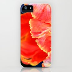Fire orange bloom Slim Case iPhone (5, 5s)