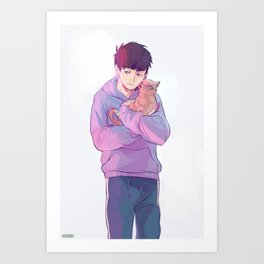 Ichimatsu Art Print