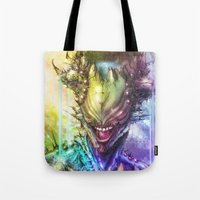 earth Tote Bags featuring Earth by Vincent Vernacatola