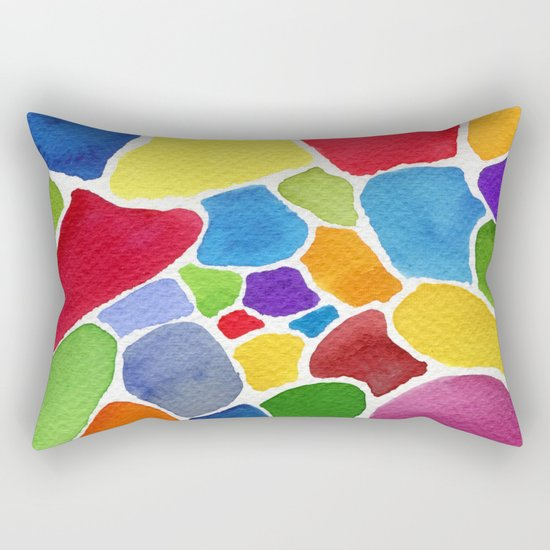 Boundaries Rectangular Pillow