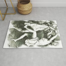 Tam O'Shanter Vector With White Background Rug