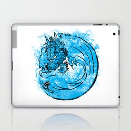 Dragon Waves Laptop & iPad Skin