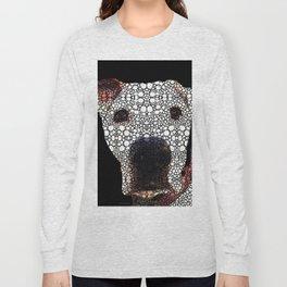 Stone Rock'd Dog 2 by Sharon Cummings Long Sleeve T-shirt