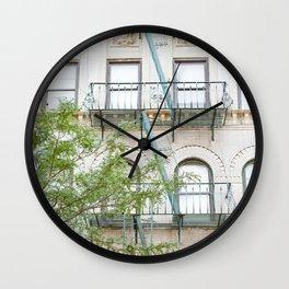 Oh So Soho, New York City Photograph Wall Clock