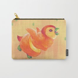Sweeture: Peachguin Carry-All Pouch