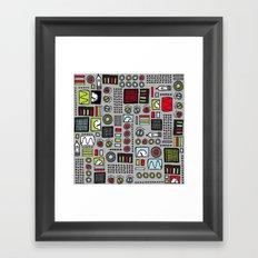Robot Controls Framed Art Print
