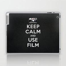 Keep Calm And Use Film Laptop & iPad Skin