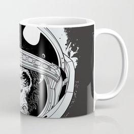 Black Space Monkey Coffee Mug