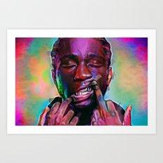 Denzel Himself Art Print