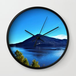 Through Water, Up Earth Wall Clock