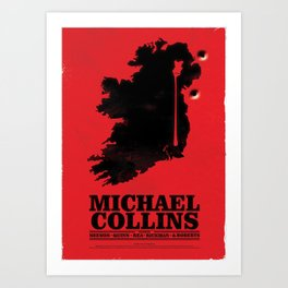 Michael Collins Movie Poster Art Print