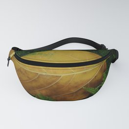 Yellow Leaf Fanny Pack