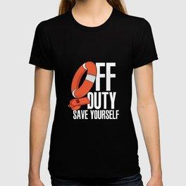 Rescue Swimmer Coast Guard Gift T-shirt