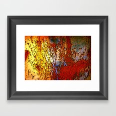 Rust is a Must Framed Art Print