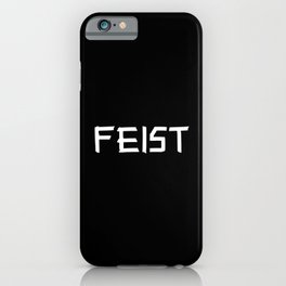 Feist iPhone Case