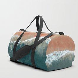 Tropical Drone Beach Photography Duffle Bag