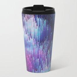 Glitch Galaxy Metal Travel Mug