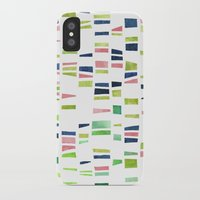 dna iPhone & iPod Cases featuring DNA by insemar