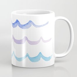 Life is Swell - Ombre Waves Coffee Mug