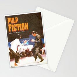 PULP FICTION Design | Dance Scene | Vintage Style Stationery Cards