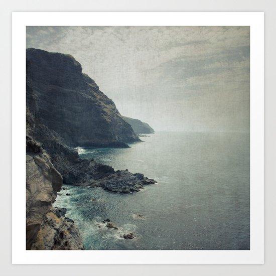 Wild Coast - La Palma Art Print