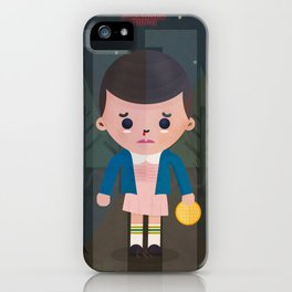 Stranger Things fan art iPhone Case