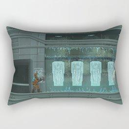 Pixelized: Dead space Rectangular Pillow