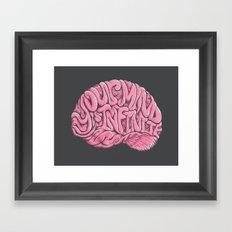 Your Mind is Infinite Framed Art Print