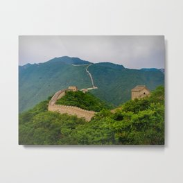 Great Wall Of China. Metal Print