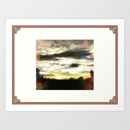 Only At Sunset Art Print