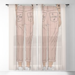 Icon Living Sheer Curtain