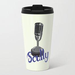 Vin Scully Mic Travel Mug